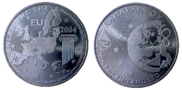 02092 GETTONE JETON TOKEN FINLAND NUMISMATIC TOKEN COMMEMORATIVE ENLARGING THE EUROPE RAHAPAYA MINT - Tokens & Medals