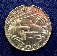 Médaille  Edition Prestige, 55e Anniversaire De La DS 19, 1955-2010, Citroën - Arthus Bertrand - Arthus Bertrand