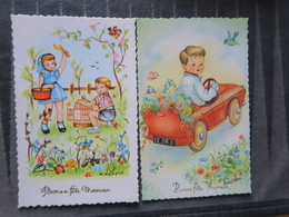 TI - CARTE BONNE FETE MAMAN - ILLUSTRATEUR RAINAUD - Mother's Day
