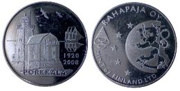02095 GETTONE JETON TOKEN FINLAND NUMISMATIC TOKEN COMMEMORATIVE PORKKALA Kallbådan Lighthouse RAHAPAJA MINT - Tokens & Medals