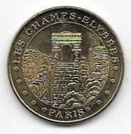 MEDAILLE TOURISTIQUE MONNAIE DE PARIS 75008   CHAMPS ELYSEES    2012 - Monnaie De Paris