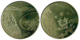 02114 GETTONE JETON TOKEN FINLAND NUMISMATIC TOKEN COMMEMORATIVE LAPIN KULTAA 2003 RAHAPAJA MINT - Tokens & Medals