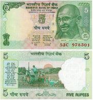 India 5 Rupees 2011 Pick 94.a UNC - India