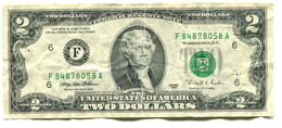 1995 USA $2 Banknote - Federal Reserve Notes (1928-...)