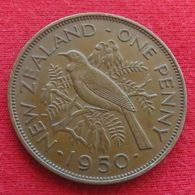 New Zealand 1 Penny 1950 KM# 21  Nova Zelandia Nuova Zelanda Nouvelle Zelande - Nouvelle-Zélande