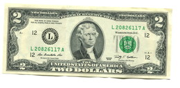 2009 USA $2 Banknote - Federal Reserve Notes (1928-...)