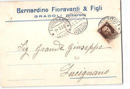 3485 03 VITERBO GRADOLI FIORAVANTI X LUCIGNANO - 1900-44 Vittorio Emanuele III
