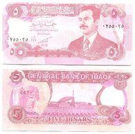 Iraq - Irak 5 Dinars 1992 Pick 80.c UNC - Iraq