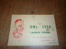 BC10-2-0 Carte Radio Amateur Belgique Marcinelle Pierre Lacroix - Radio & TSF