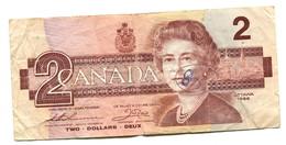 1986 Canada $2 Banknote - Canada