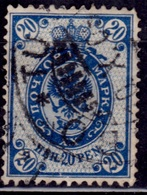 Finland, 1901, Imperial Arms, 20p, Sc#73, Used - 1856-1917 Russian Government