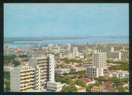Maputo. *Lourenço Marques - Vista Da Zona Comercial...* Ed. Liv. Progresso Nº 8. Escrita. - Mozambique