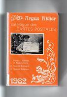 ARGUS FILDIER - Catalogue Des Cartes Postales (France : Thèmes Et Régionalisme - Spécial Bretagne Et Belgique) - Brocantes & Collections