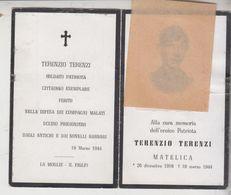 SANTINO LUTTINO MILITARE PRIGIONIERO SOLDATO PATRIOTA 1944  GT - Imágenes Religiosas