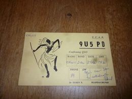 BC10-2-0 Carte Radio Amateur Astrida Ruanda Urundi P Duren - Radio & TSF