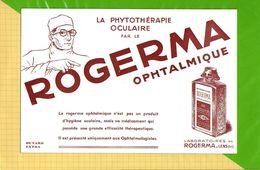 BUVARD @ Blotting Paper : PHYTOTHERAPIE Oculaire ROGERMA  Laboratoire Rogerma Lens - Drogisterij En Apotheek