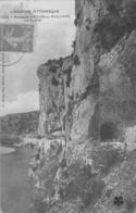 Route De VALLON  Au Pont D'Arc Le Tunnel N°1542 - Vallon Pont D'Arc