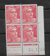 Coin Daté N° 813 Du 24.01.1949 ** TTBE - Cote Y&T 2020 De 6 € - 1940-1949
