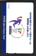 Télécarte Japon * 110-016 - COCA COLA *  GEORGIA (2098)  JAPAN Phonecard * Telefonkarte - Advertising