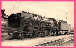 Locomotive De L' Ouest - Machine 141 P. 74 à Surchauffeur Houlet Compound à 4 Cylindres - Cliché L. VILAIN - H.M.P. - Trains