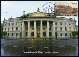 IRELAND / IRLANDA (2018) - Tarjeta Máxima / Maximum Card - Opening Of The General Post Office Dublin, 1818 - Cartoline Maximum
