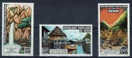 Benin, Landscapes, 1977, MNH VF  Complete Set Of 3 - Benin - Dahomey (1960-...)