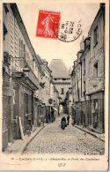 37 LOCHES - Grande Rue Et Porte Des Cordeliers - Loches