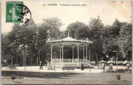 37 LOCHES - Le Kiosque Du Jardin Public. - Loches