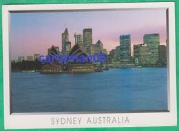 Australie - Sydney - Sydney Skyline With The Opera House In The Foreground - Sydney
