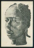 Nigeria. *Sculpture Africaine. Tribu Anyang. Coiffure-masque...* Nueva. - Nigeria
