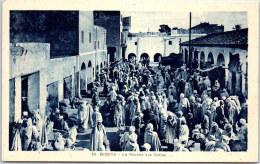 ALGERIE - BISKRA - Le Marché Aux Dattes - Biskra