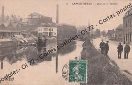 CPA - Nord - Armentieres - Quai De La Sarcelle - Armentieres