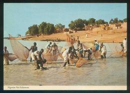 Nigeria. *Nigerian Net Fishermen* Ed. John Hinde Nº 2NG63. Nueva. - Nigeria