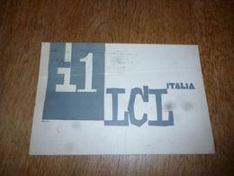 BC10-2-0-2 Carte Radio Amateur Italia Belluno Franco De Benedet - Radio & TSF