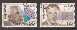España U 3301/02 (o) Europa. 1994 - 1991-00 Oblitérés