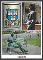 Ireland, Dublin, City Crest & Sculptures, Multiview, Unused - Dublin
