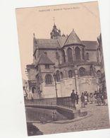 CPA -  PONTOISE - Abside De L'église St Maclou - Pontoise