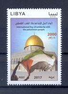 Libya/Libye 2017 - Stamp - International Day Of Solidarity With The Palestinian People - - Libië