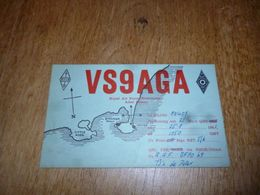 BC10-2-0-2 Carte Radio Amateur  Aden Colony Colonie Britannique - Radio & TSF