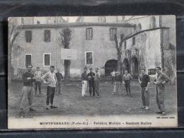 F07 - 63 - Montferrand - Peloton Mobile - Baskett-Balles  - Sport - Basket-Ball - Clermont Ferrand