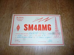 BC10-2-0-2 Carte Radio Amateur  Suède Sweden Kristinehamn Nils Peterson - Radio & TSF