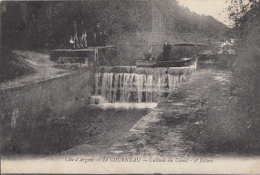 LE COURNEAU        CASCADE DU CANAL.  2 E  ECLUSE      + CACHET MILITAIRE AU VERSO - France