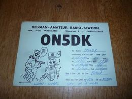 BC10-2-0-2 Carte Radio Amateur  Oostrozebeke Dessin TSF - Non Classés