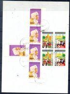 L132- Libya Parcel Receipt Cover Send To Pakistan. 1992 Definitive Col. Khadafy. 1987 Gaddafi  Declaration People AUT VF - Libya