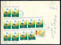 L138- Libya Parcel Receipt Cover Send To Pakistan. 1990 FAO Food Nutrition Agriculture. 1990 Soccer Football FIFA WC Ita - Libya