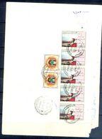L149- Libya Parcel Receipt Cover Send To Pakistan. 1992 Revolution's Achievement. Ship. Plane. - Libya