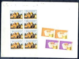 L151- Libya Parcel Receipt Cover Send To Pakistan. 1992 Col. Khadafy Definitive. 1991 Scenes From Libya Tourism Tourisme - Libya