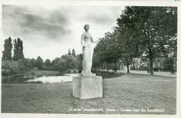 Goes 1962; Standbeeld Ceres, Godin Van De Landbouw - Gelopen. (JTG) - Goes