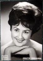 OPERA COLETTE GERARDIN   PHOTO DEDICACEE A LA MAIN   CHANT OPERETTE THEATRE   VERS 1960 - Dédicacées