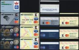 Set 7 BANK PAYMENT CARDS Of EKOAGROBANKA (Czech Republic), 1994 - 1997 - Geldkarten (Ablauf Min. 10 Jahre)
